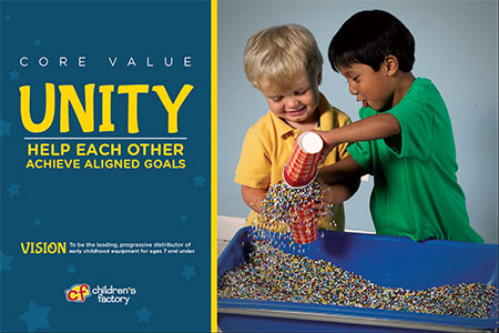 Children's Factory Core Values   Cribs and Things